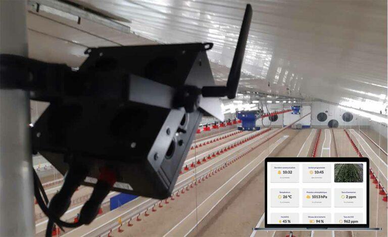 Le numérique au service des élevages avicoles : une nouvelle solution de supervision de la production
